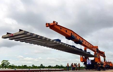 尼日利亚:中土承建的拉伊铁路项目开始铺轨