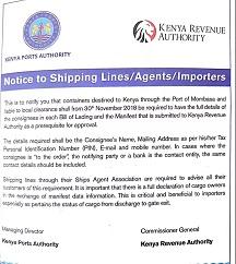 肯尼亚对提单出新要求!