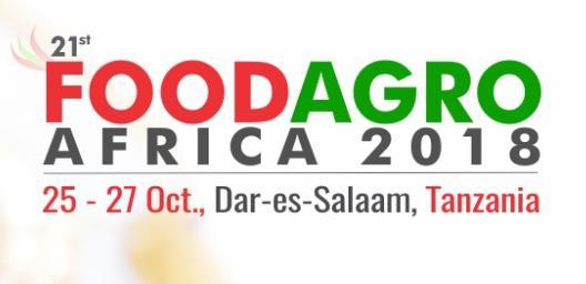 2018年坦桑尼亚国际食品及农业展览会-
