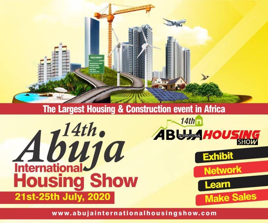 2020年·第14届尼日利亚国际家居建材展(14thAbujaInternationalHousingShow)-